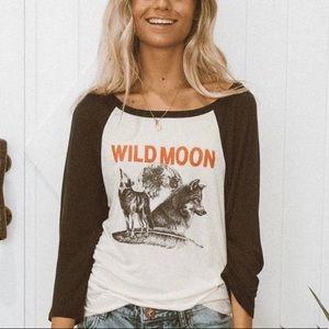 Spell Wild Moon Raglan